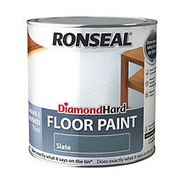 Ronseal Diamond Slate Satin Floor Paint2.5L