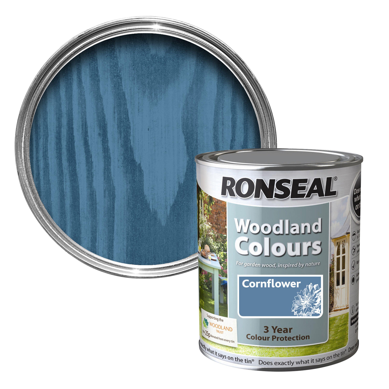 Ronseal Woodland Colours Cornflower Matt Wood Stain 2 5l