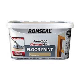 Ronseal Perfect Finish Pebblestone Satin Floor Paint2.5L