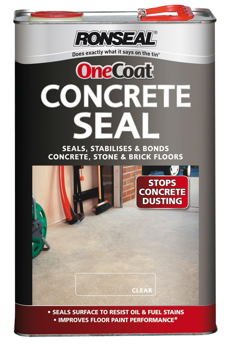 Ronseal Clear Concrete Sealer 5l Departments Diy At B Q