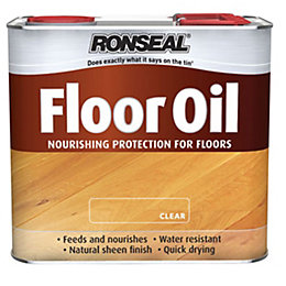 Ronseal Natural Soft sheen Floor oil 1L