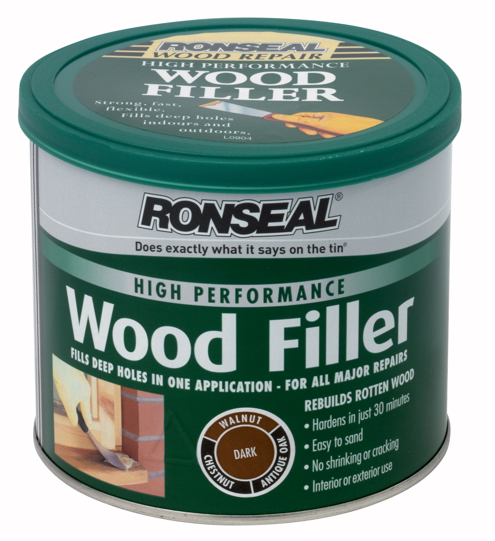 ronseal wood filler 550g departments diy at b q. Black Bedroom Furniture Sets. Home Design Ideas