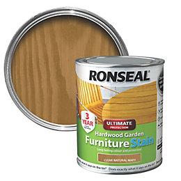 Ronseal Hardwood Hardwood Garden Furniture Stain 0.75L