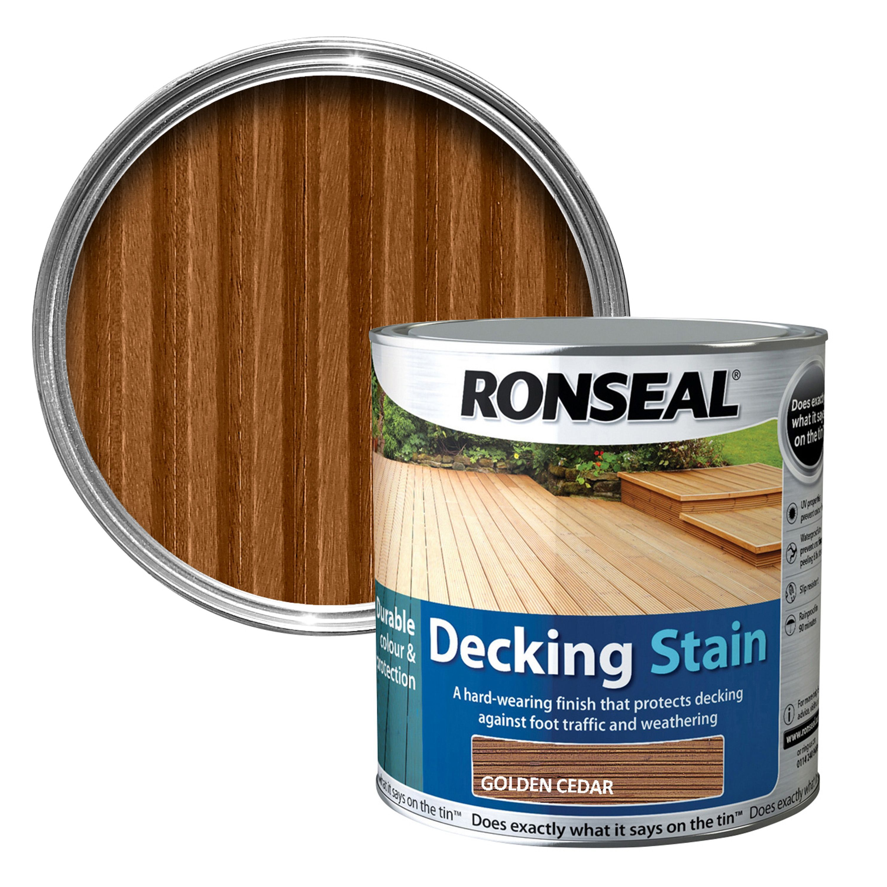 Ronseal decking stain country oak non woven geotextile fabric