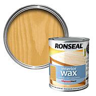 Ronseal Interior diamond hard Antique pine Matt Wood wax 0.75L