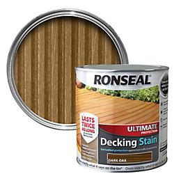 Ronseal Ultimate Dark oak Matt Decking stain 2.5L
