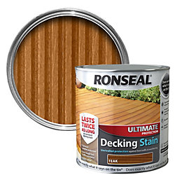 Ronseal Ultimate Teak Matt Decking stain 2.5L