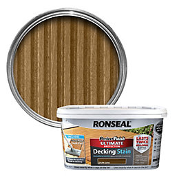 Ronseal Perfect Finish Dark Oak Decking Stain 2.5L