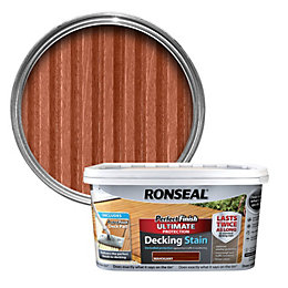 Ronseal Perfect Finish Mahogany Decking Stain 2.5L