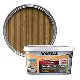 Ronseal Perfect Finish Dark Oak Decking Oil 2.5L