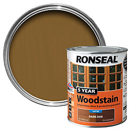 Ronseal Oak High Satin Sheen Woodstain 0.75L