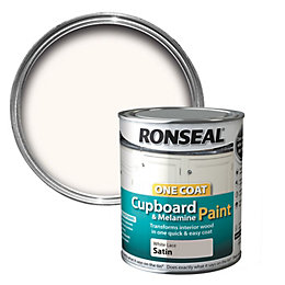 Ronseal White lace Satin Cupboard paint 750 ml
