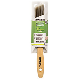 """Ronseal Precision Finish Angled paint brush (W)1"""""""