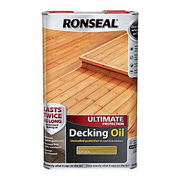 Ronseal Ultimate Natural Decking oil 5L