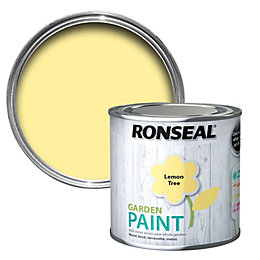Ronseal Garden Lemon Tree Matt Garden Paint 0.25L