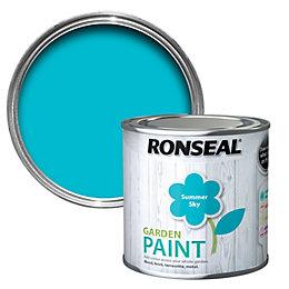 Ronseal Garden Summer Sky Matt Garden Paint 0.25L