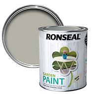 Ronseal Garden White ash Matt Garden paint 0.75L