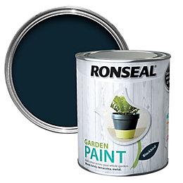 Ronseal Garden Blackbird Matt Garden Paint 0.75L