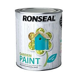 Ronseal Garden Summer Sky Matt Garden Paint 0.75L