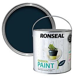 Ronseal Garden Black bird Matt Garden paint 2.5L