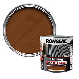 Ronseal Maple Matt Decking Rescue Paint 2.5L
