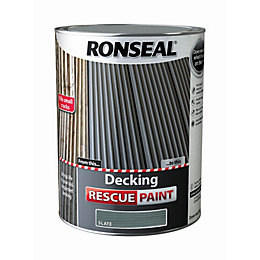 Ronseal Deck rescue Slate Matt Opaque Decking paint