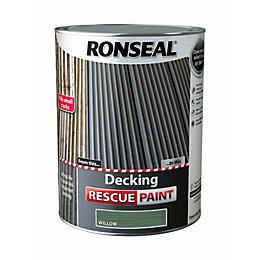 Ronseal Deck rescue Willow Matt Opaque Decking paint