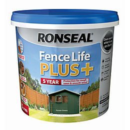 Ronseal Fence life Forest green Matt Opaque Shed