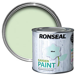 Ronseal Garden Mint Matt Paint 0.25L
