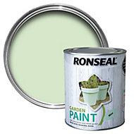 Ronseal Garden Mint Matt Paint 0.75L