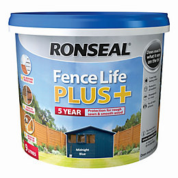 Ronseal Fence life Midnight blue Matt Opaque Shed