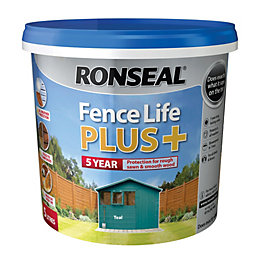 Ronseal Fence Life Teal Matt Opaque Shed &