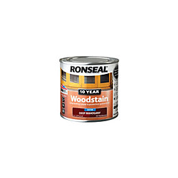 Ronseal Deep mahogany Satin Woodstain 0.25L