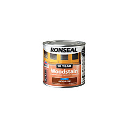 Ronseal Antique pine Satin Woodstain 0.25L