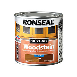Ronseal Oak Satin Woodstain 0.25L