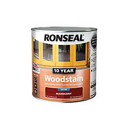 Ronseal Mahogany Satin Woodstain 0.75L