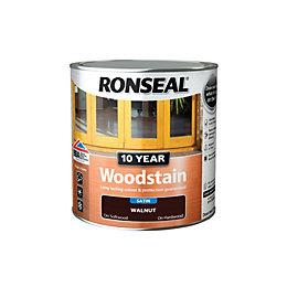 Ronseal Walnut Satin Woodstain 0.75L