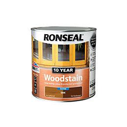 Ronseal Oak Satin Woodstain 2.5L