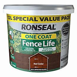 Ronseal Fence Life Red Cedar Matt Opaque Shed