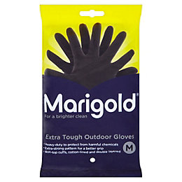 Marigold Medium Heavy Duty Rubber Gloves Of 1