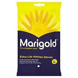 Marigold Large Kitchen Rubber Gloves Of 1