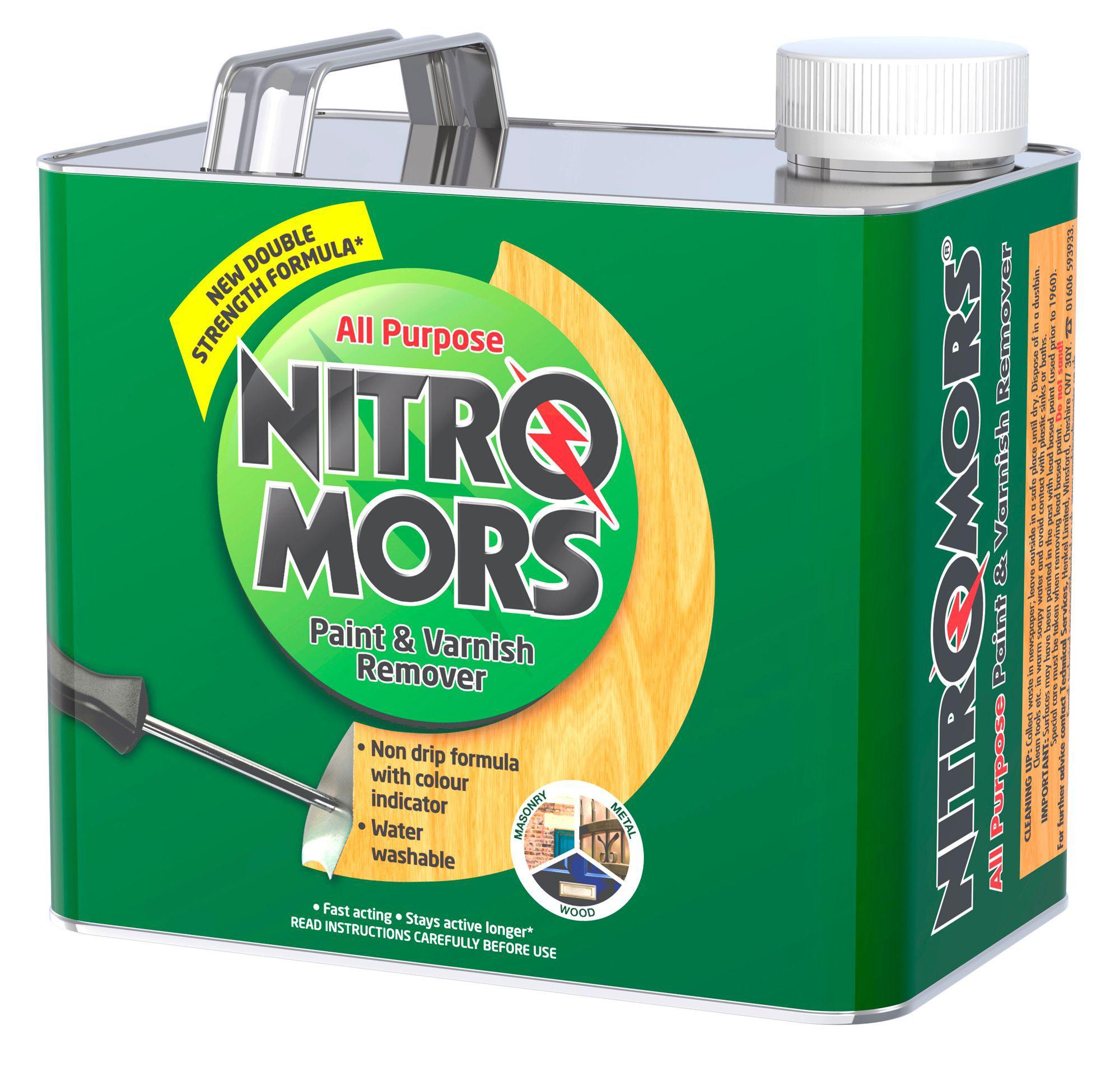 nitromors all purpose paint varnish remover 2l departments diy
