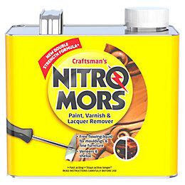 Nitromors Craftsman's Paint, Varnish & Lacquer Remover 2L