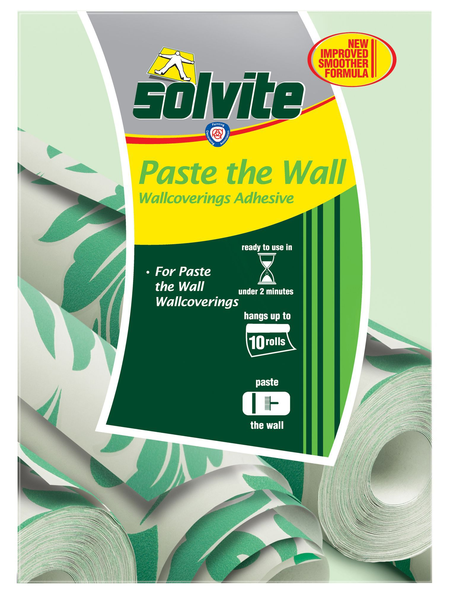 Solvite Paste the wall Wallpaper adhesive 474g | Departments | DIY at B&Q