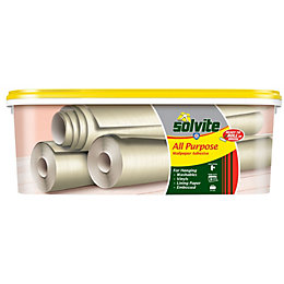 Solvite All Purpose Ready to roll Wallpaper adhesive