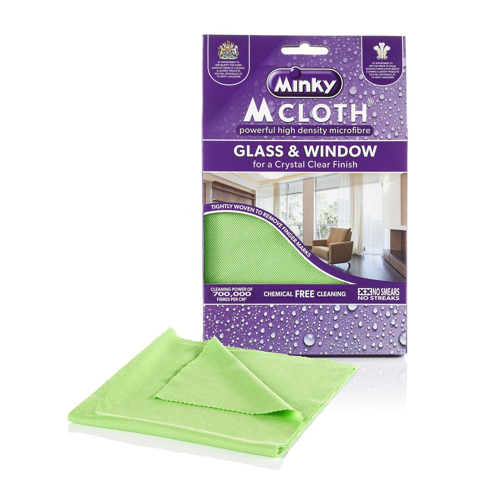 minky m cloth glass and window