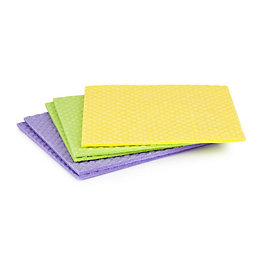 Minky Extra Thick Sponge Cloth, Pack of 5