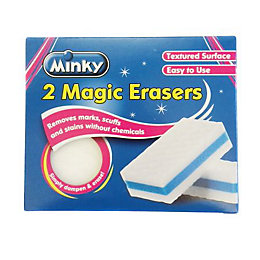 Minky Magic Eraser, Pack of 2