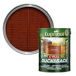 Cuprinol 5 Year Ducksback Rich Cedar Shed &
