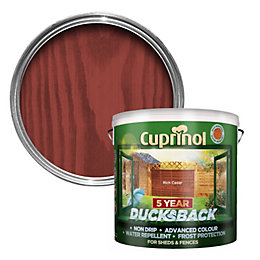 Cuprinol 5 Year Ducksback Rich Cedar Shed &